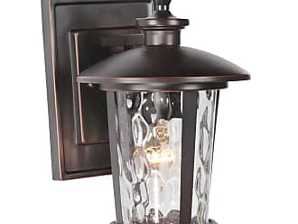 Craftmade Exteriors Outdoor Lighting Small Wall Mount In Oiled Bronze Gilded