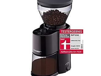 Cloer 7521 Molinillo de caf/é el/éctrico con molinillo para 2/ blanco ajustable grado de molienda 150/W /12/tazas y 300/g granos de caf/é