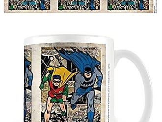 Motivo: Batman DC Comics Multicolore Tazza da Viaggio in Ceramica