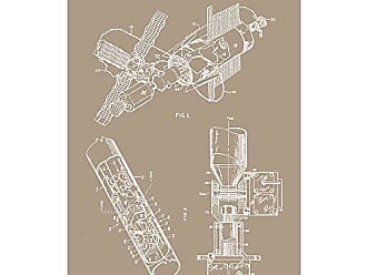 Inked and Screened SP_TECH_3,520,496_KR_17_W Serpentuator Print, 11 x 17, Kraft-White Ink