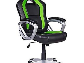 Pelegrin Cadeira Gamer Em Couro PU Pelegrin PEL-3007 Preta E Verde