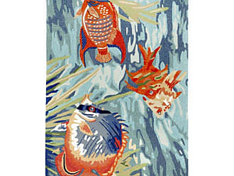 Liora Manne Ravella Tropical Fish Indoor/Outdoor Area Rug, Size: 5 x 2 ft. - RVLR5225504