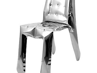 Zieta Chippensteeel 0.5 Chair By Zieta Prozessdesign, Stainless Steel Inox Version