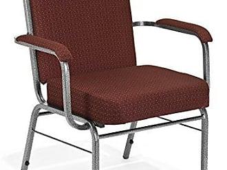 OFM 300-XL-4PK-3165 Comfort Class Guest Chair, 35 Height, 29 Width, 25 Length, Burgundy (Pack of 4)