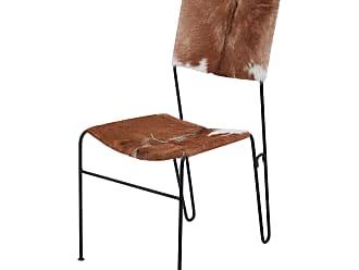 Dimond Home Goatskin Tuft Side Chair