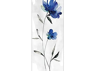Portfolio Canvas Decor Portfolio Décor Gallery Wrapped Canvas Wall Art, 16x48 Beautiful Blue I by Carol Robinson 16 x 48