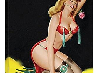 Bentley Global Arts Global Gallery Budget GCS-453891-1824-142 Peter Driben Mid-Century Pin-Ups-Beauty Parade Magazine-Rose Gallery Wrap Giclee on Canvas Wall Art Print
