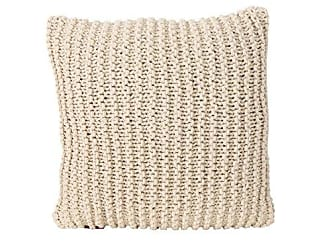 Christopher Knight Home 305861 Tate Knitted Cotton Pillow, Beige