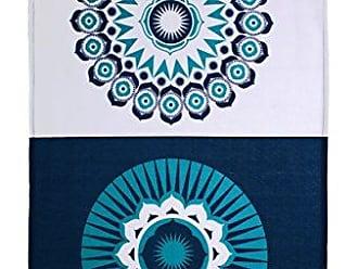 Ulster Weavers 29.1x18.9 Mini Moderns Design Darjeeling Indigo Blue Cotton Tea Towel