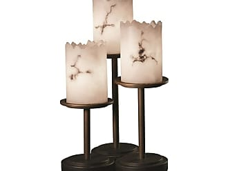 Justice Design Group FAL-8797-12 Dakota 3 Light 16 Tall Table Lamp