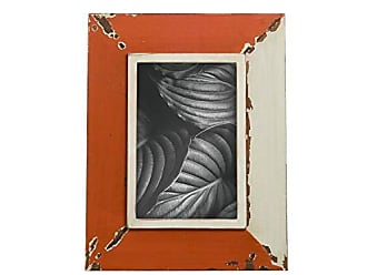 Foreside Home And Garden 4X6 Jewel Photo Frame Burnt Orange