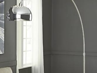 Ashley Furniture Osasco Arc Lamp, Silver Finish