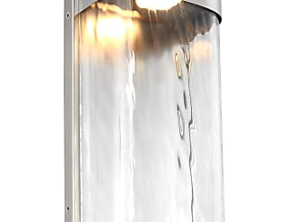 Feiss Bennie - 1 - Light LED Outdoor Wall Lantern in Painted Brushed Steel