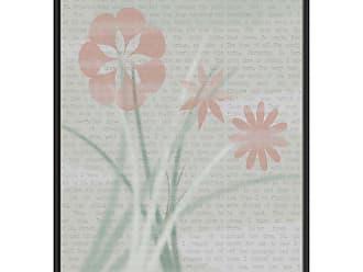 Ptm Images Petal Sketch Decorative Wall Art - 9-80966