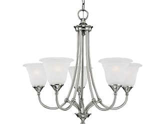 Thomas Lighting SL8801 5 Light Up Lighting Chandelier from the Harmony