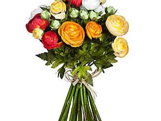 Mica decorations 914300 Bukett Rose L28D19 H.rosa Blumenstrauss Zart Rosa Bunt 19 x 19 x 28 cm