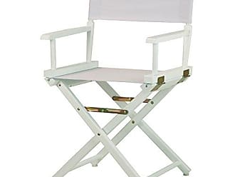 Yu Shan Casual Home 18 Directors Chair White Frame with White Canvas