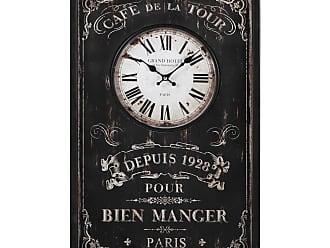 Horloges Murales En Noir 57 Produits Soldes Dès 987