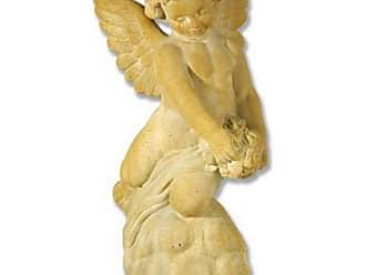 Orlandi Statuary Rose Giver Garden Statue, Girls - FS7311