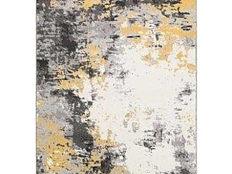 Overstock Avery Abstract Watercolor Area Rug - 711 x 10 (711 x 10 - Grey)
