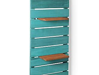 Mão & Formão Deck de Parede Vertical - AzulAzul