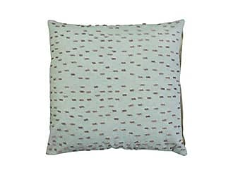 Foreside Home And Garden 18X18 Brownstone Pillow