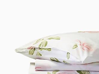 Kate Spade New York Breezy Magnolia Duvet Set, White - Size FULL/QUEEN