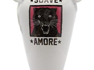 Gucci Panther Porcelain Vase - White Multi