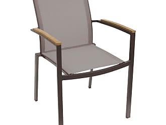 Whiteline Sanctuary Outdoor Dining Armchair - Set of 4, Patio Furniture - ODAC1540-TAU
