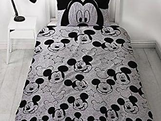 Disney Micky Maus Bettbezug Grau 135 X 200 Cm