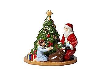 Villeroy /& Boch Christmas Toys Photophore en Porcelaine Rigide Vert 9 x 9 x 16 cm