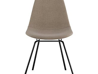 NyeKoncept 331001CL3 Mid Century Classroom Side Chair, Light Sand