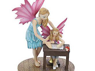 Pink//Green 7.5/x 6/x 10.5/cm Puckator FF3/Solar Pink Flamingo Figurine