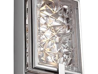 Feiss Erin - 1 - Light Wall Sconce in Polished Stainless Steel