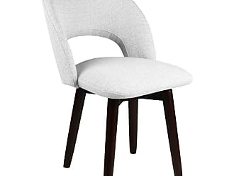 SOUTH CONE Franco Upholstered Dining Side Chair with Swivel Espresso - FRANCOCH/WAL/ESPRESSO