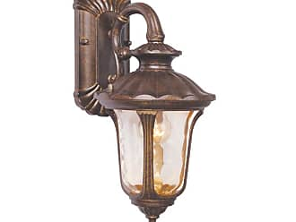 Livex Lighting 7651-LQ Oxford 1 Light Outdoor Wall Sconce Moroccan