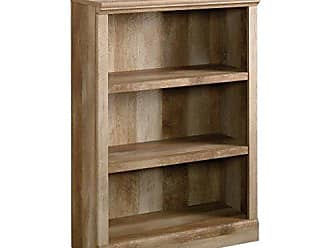 Sauder Sauder 417222 East Canyon 3-Shelf Bookcase, L: 29.29 x W: 13.89 x H: 41.85, Craftsman Oak finish