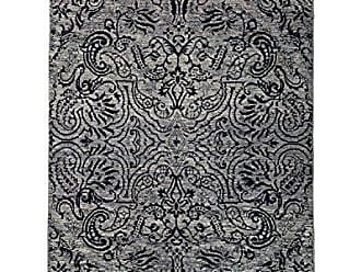 Solo Rugs Suzani Hand Knotted Area Rug 4 1 x 6 1 Gray