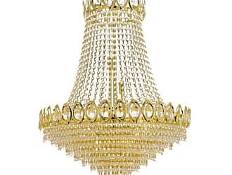 Harrison Lane J2-1089 French Empire 9 Light Single Tier Crystal Empire