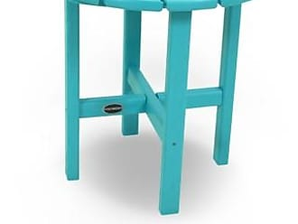 Ashley Furniture POLYWOOD Round 18 Side Table, Turquoise