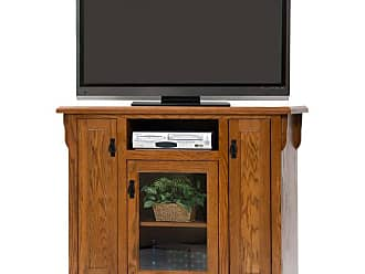 American Heartland 49.5 in. Oak Tall TV Stand - Assorted Finishes - 88848LT