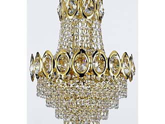 Harrison Lane J2-1022 4 Light 12 Wide Single Tier Crystal Chandelier