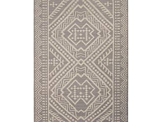 Jaipur Living Rugs Jaipur Batik Flat-Weave Yao Area Rug - Medium Gray/Floral White, Size: 5 x 8 ft. - RUG117406
