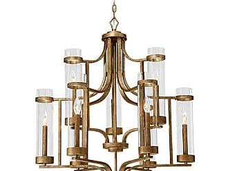 Millennium Lighting Milan 9-Light Chandelier in Vintage Gold