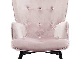 Kare Design Sessel Vicky Velvet Rose, 82610, Samtiger Loungesessel, TV  Sessel Mit