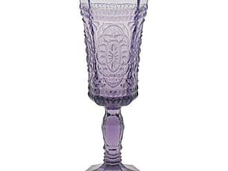 10 Strawberry Street Vatican 4 Oz Champagne Flute, Set of 6, Amethyst Glass