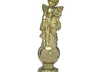 Espressione Anjo Dourado de Cerâmica 42cm Espressione