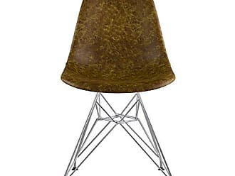 NyeKoncept 331012EM1 Mid Century Eiffel Side Chair, Palermo Olive