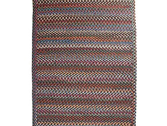 Rhody Rug Blue Ridge Rectangle Wool Braided Rug, 23 x 8 Runner