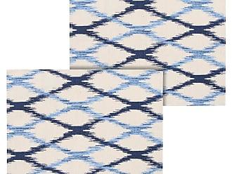 Próxima Jogo Americano 2pçs Próxima Textil Geométrico Azul